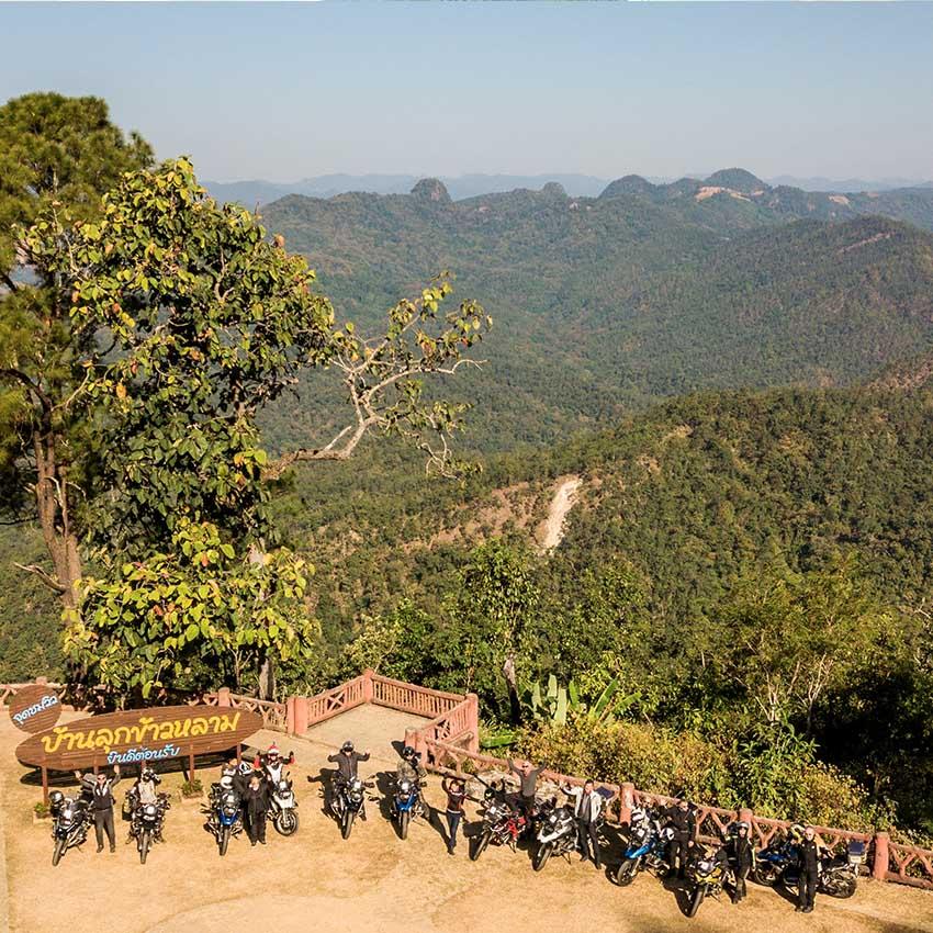 Group ride Thailand